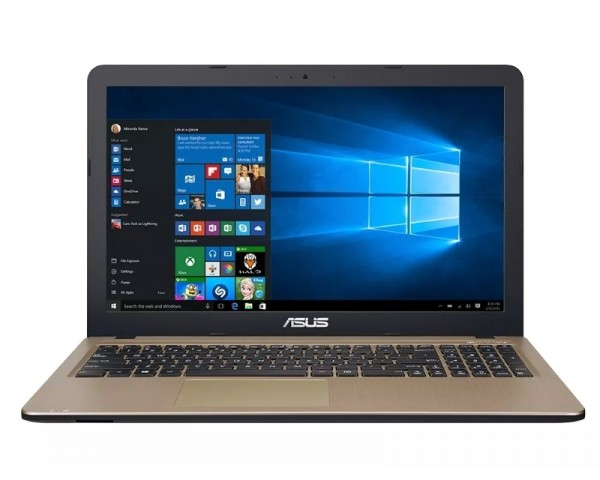 ASUS X540LA-XX1017T 15.6'' Intel Core i3-5005U 2.0GHz 4GB 1TB Windows 10 Home 64bit crno-zlatni
